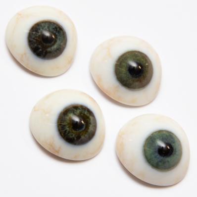 Perfekt realistische Augenimplantate mit 3D-Druck