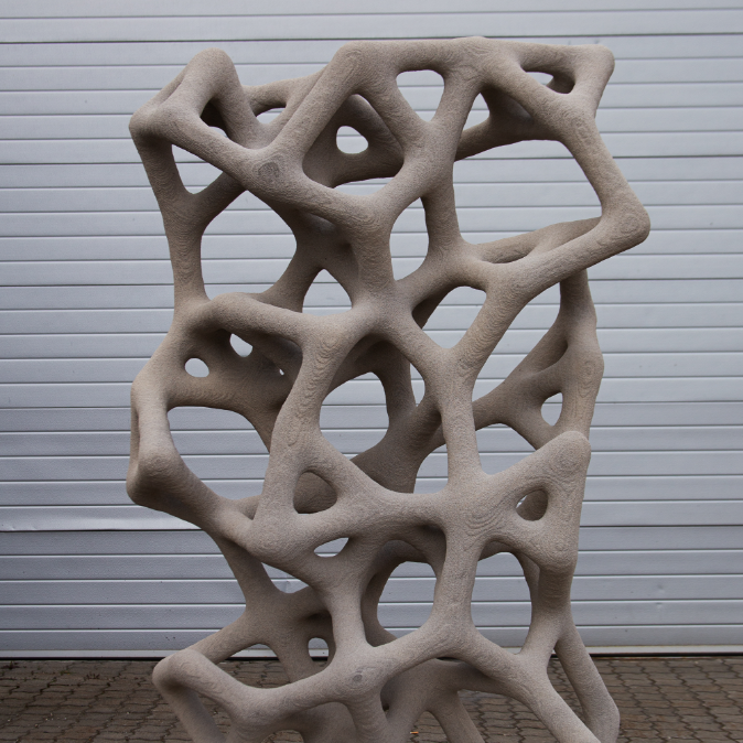 Neue Ästhetik: Dreidimensionale Formfreiheit bei 3D-gedruckten Fertigelemente