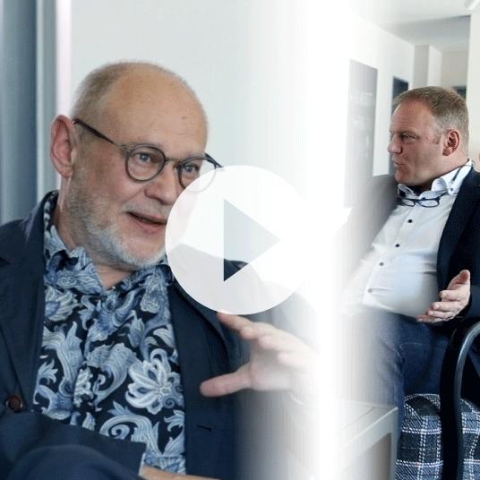 Carl Fruth im Interview mit Antonius Köster