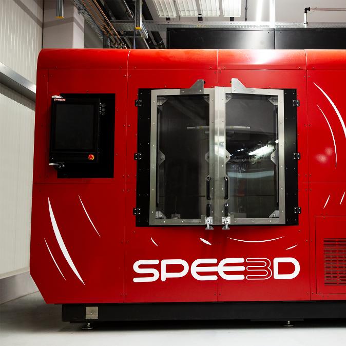 Bei FIT bereits im Einsatz: Die erste WarpSPEE3D-Anlage in Europa